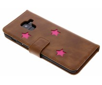 Fabienne Chapot Pink Reversed Star Booktype Samsung Galaxy A8 (2018)