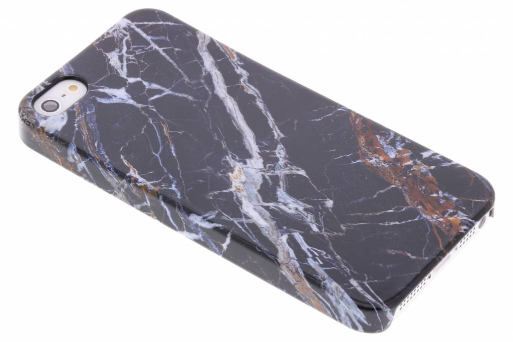 Selencia Black Marble Passion Hard Case voor de iPhone 5 / 5s / SE