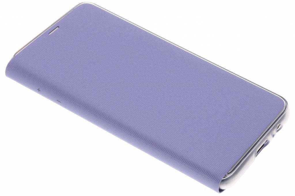 Paarse Originele Neon Flip Cover voor de Galaxy A8 (2018)