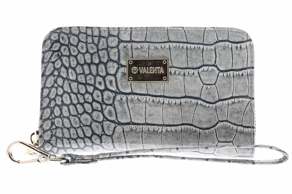Grijze Universele Luxury Handbag Snake Glam