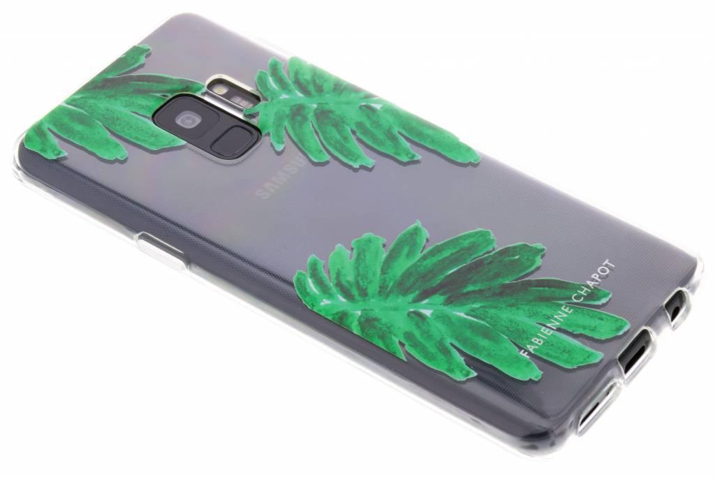 Fabienne Chapot Citrus Leaf Softcase voor de Samsung Galaxy S9