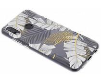 Botanic design siliconen hoesje Huawei P20 Lite