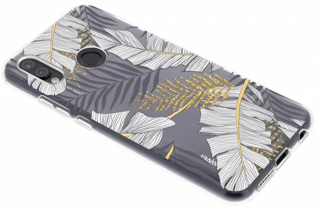 Botanic design siliconen hoesje voor de Huawei P20 Lite