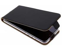 Selencia Zwart Luxe TPU Flipcase Huawei P20 Lite
