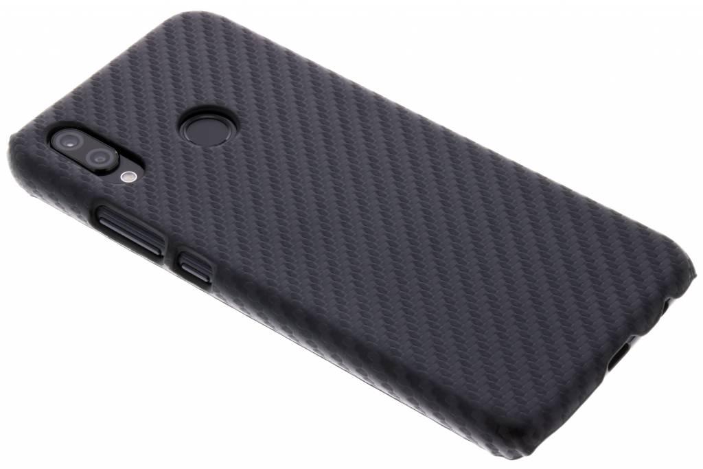 Carbon look hardcase hoesje voor de Huawei P20 Lite