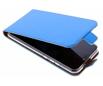 Selencia Blauw Luxe TPU Flipcase Huawei P20 Lite