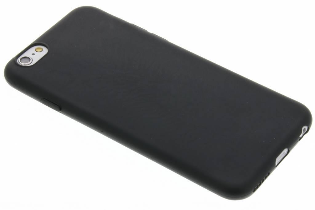 Zwarte Color TPU hoesje voor de iPhone 6(s) Plus
