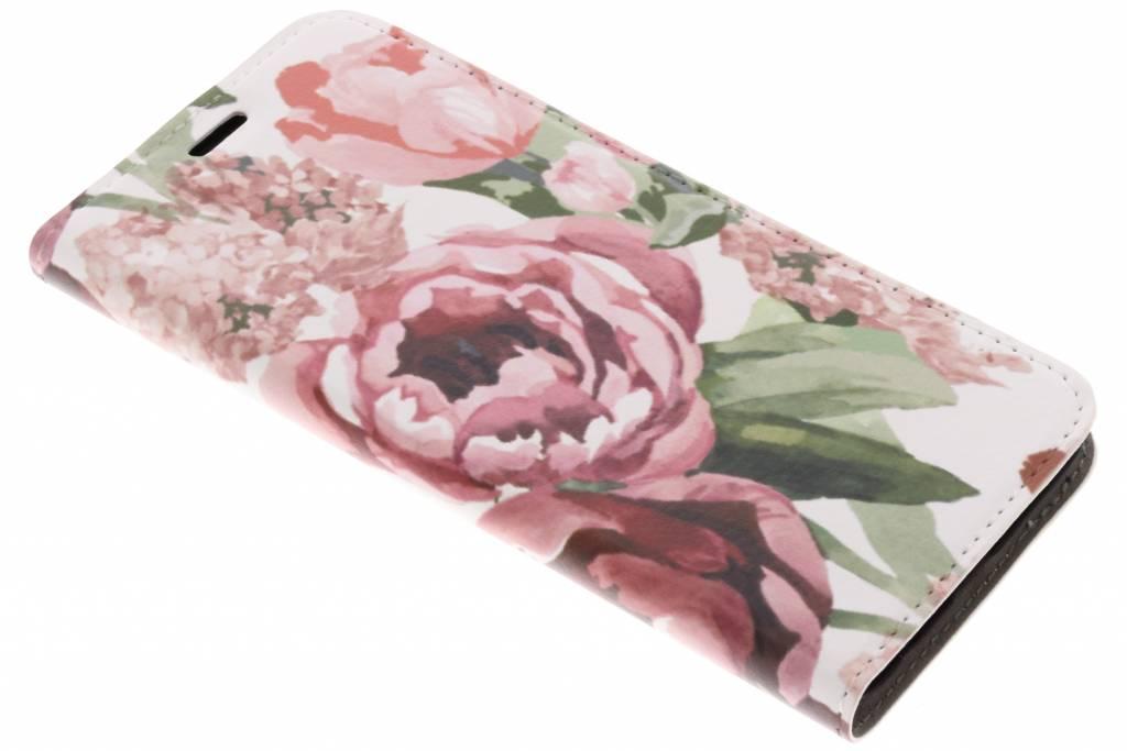 Bloemen Design Booklet voor de Samsung Galaxy S9