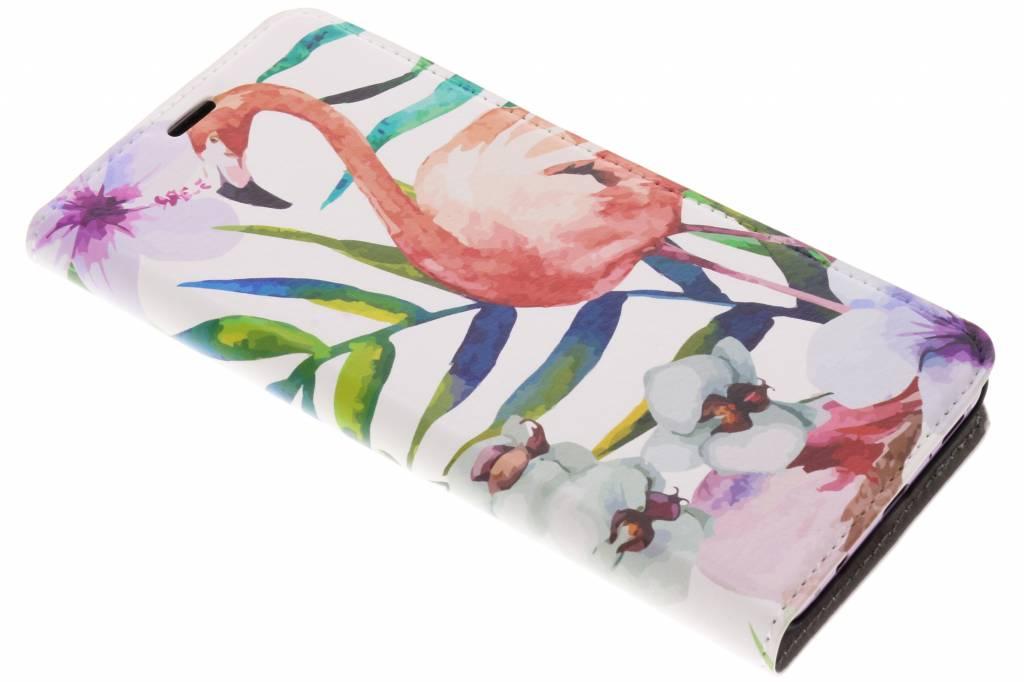 Flamingo Design Booklet voor de Samsung Galaxy S9 Plus