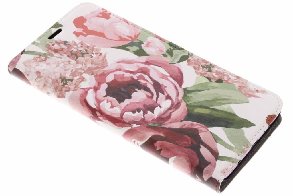 Bloemen Design Booklet voor de Samsung Galaxy S9 Plus
