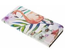 Flamingo Design Booklet Huawei Mate 10 Lite