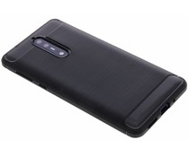 Zwart Brushed TPU Case Nokia 8
