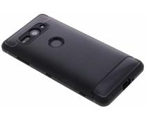 Zwart Brushed TPU Case Sony Xperia XZ2 Compact