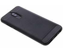 Zwart Brushed TPU Case Huawei Mate 10 Lite