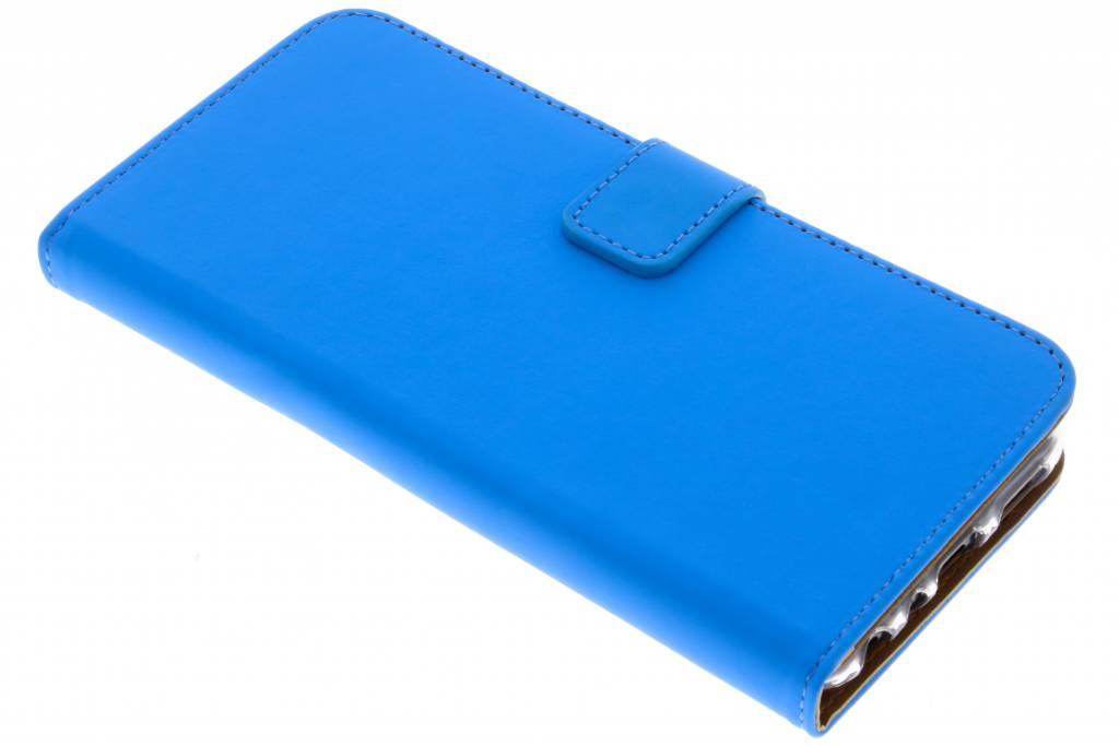Selencia Blauwe Luxe TPU Book Case voor de Huawei P Smart