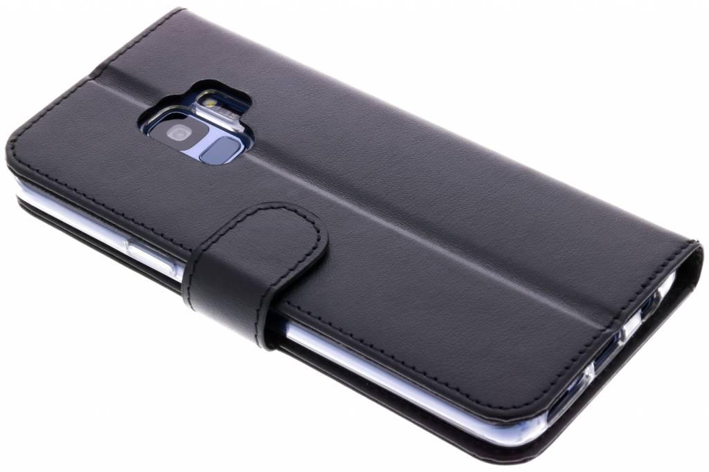 Valenta Zwarte Booklet Classic Luxe voor de Samsung Galaxy S9