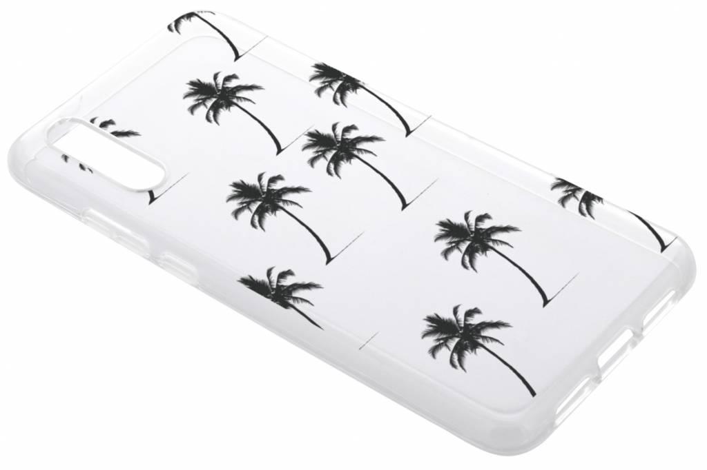 Palmtrees design siliconen hoesje voor de Huawei P20