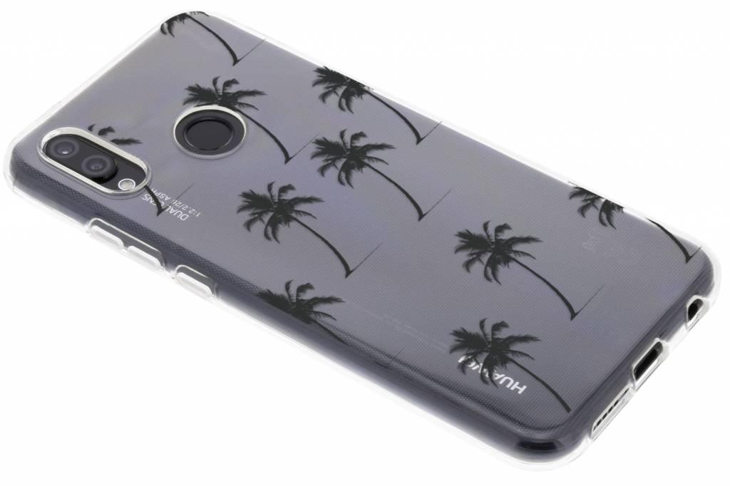Palmtrees design siliconen hoesje voor de Huawei P20 Lite