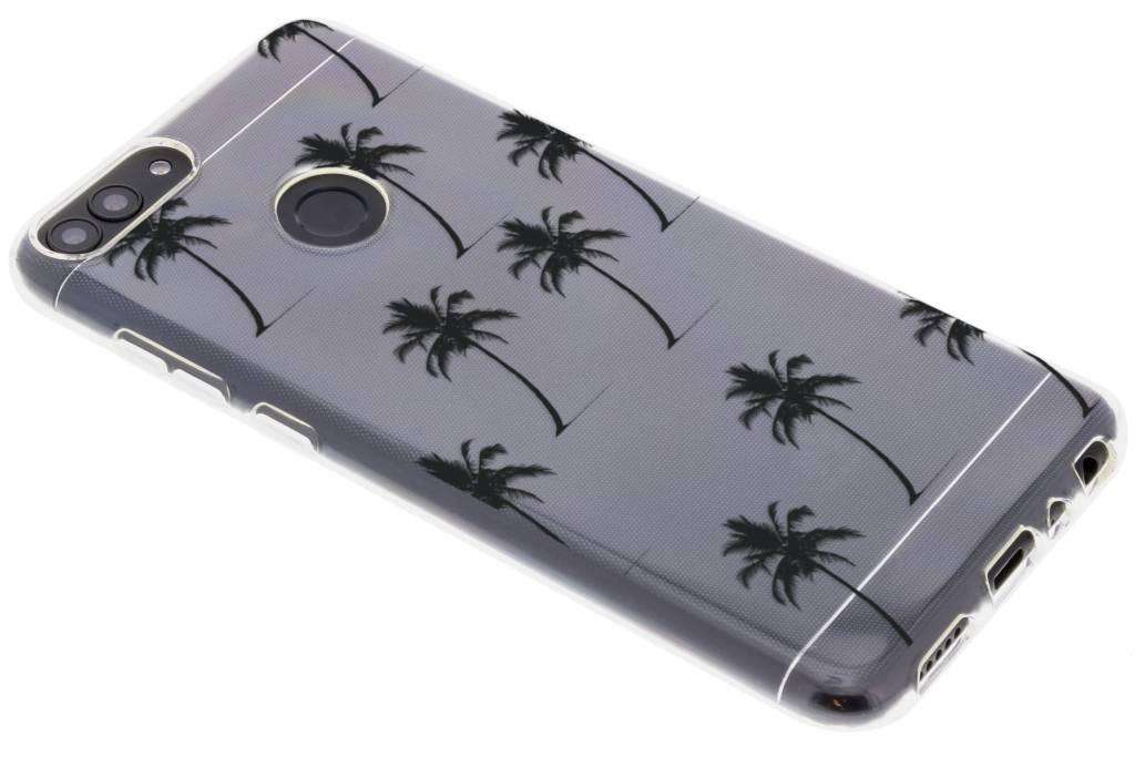 Palmtrees design siliconen hoesje voor de Huawei P Smart