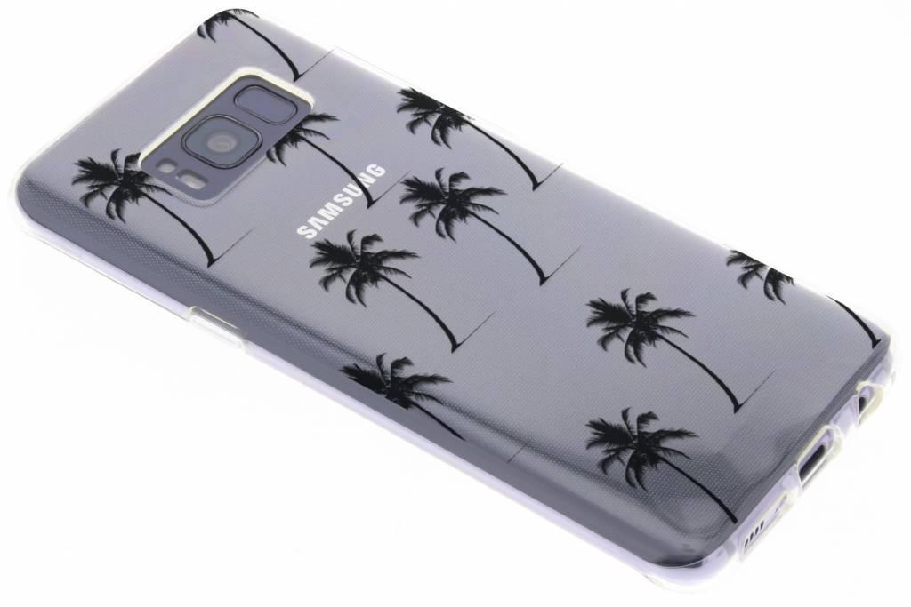 Palmtrees design siliconen hoesje voor de Samsung Galaxy S8