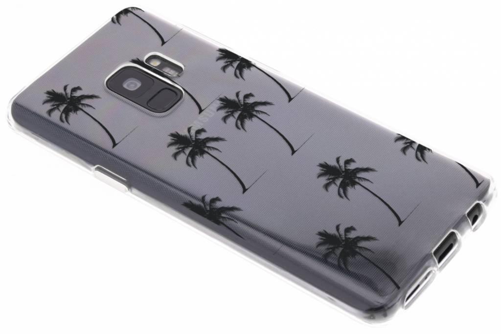 Palmtrees design siliconen hoesje voor de Samsung Galaxy S9