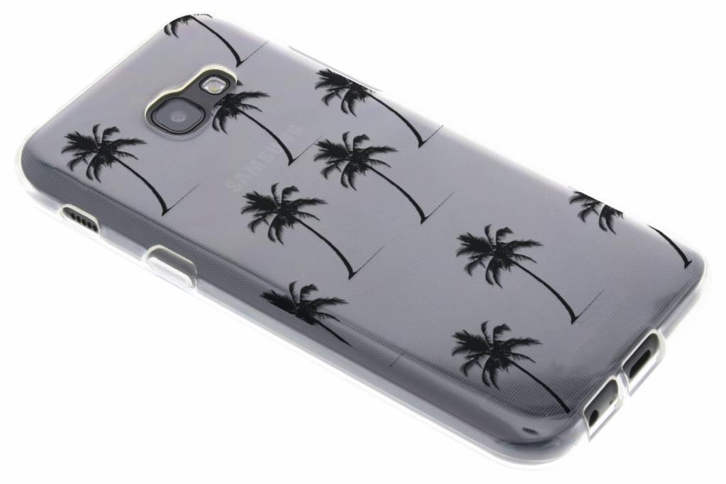 Palmtrees design siliconen hoesje voor de Samsung Galaxy A5 (2017)