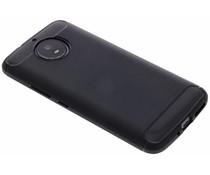 Zwart Brushed TPU case Motorola Moto G5S