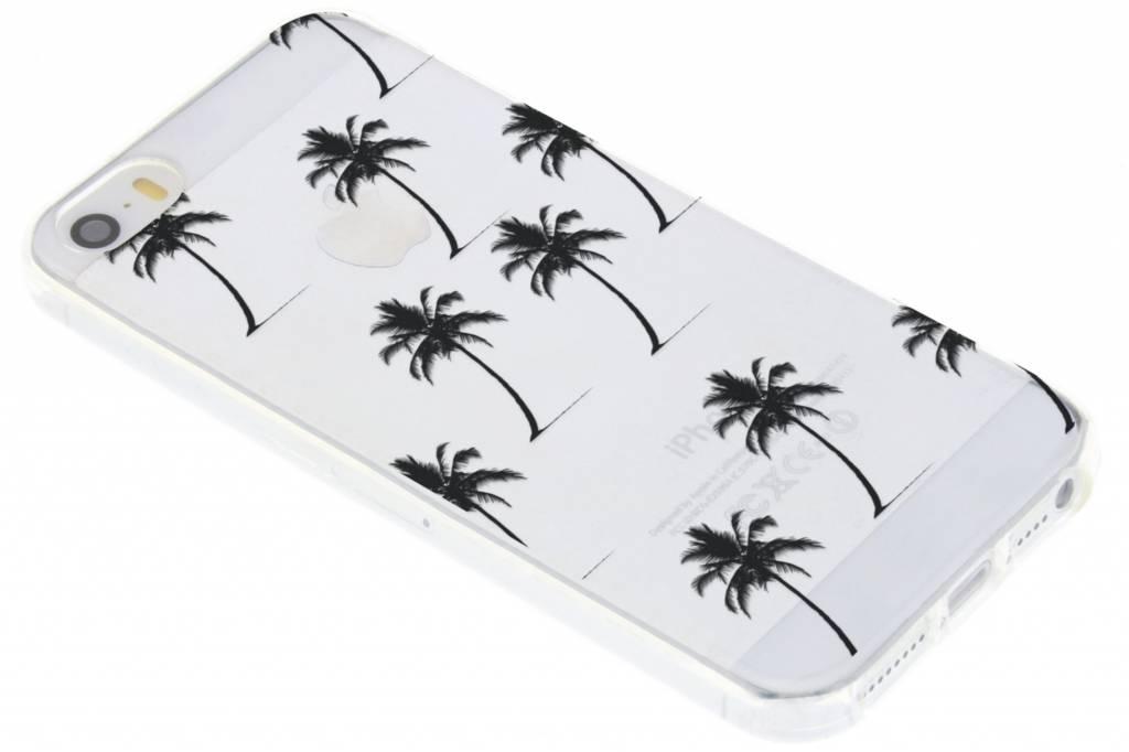 Palmtrees design siliconen hoesje voor de iPhone 5 / 5s / SE