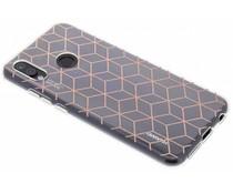 Cubes design TPU hoesje Huawei P20 Lite