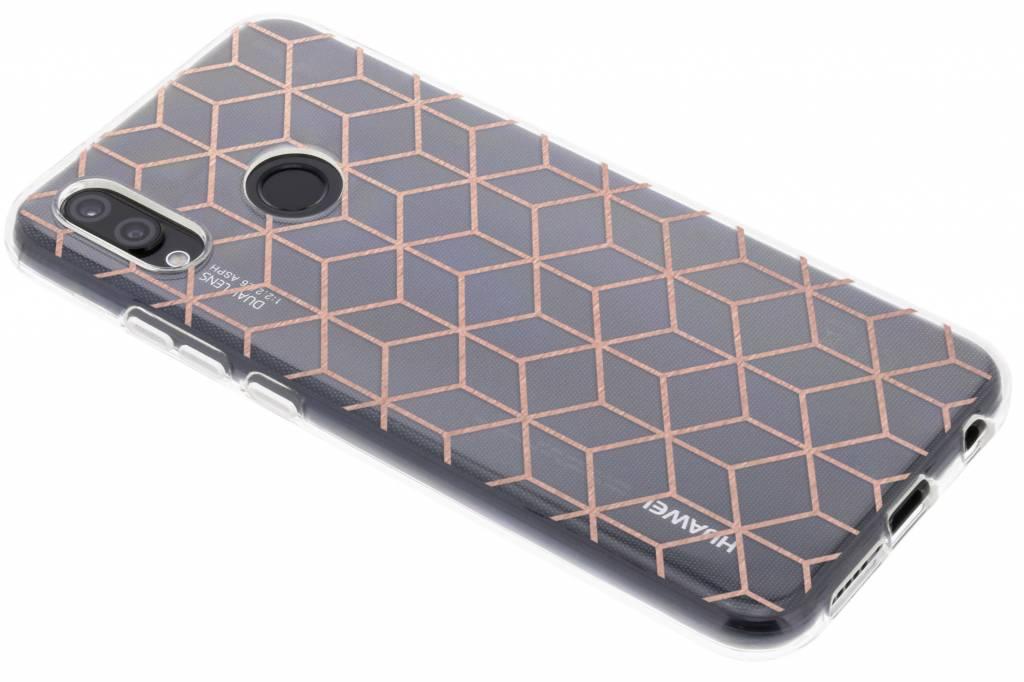 Cubes D'or Conception De Cas De Tpu Pour Samsung Galaxy S8, Plus