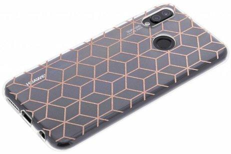 Cubes Ont Augmenté De Cas De Tpu Design Or Pour Samsung Galaxy A3 (2017) NHdQ5bc