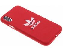 adidas Originals Rood Adicolor Moulded Case iPhone X