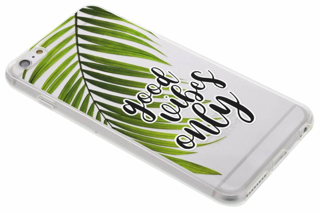 Quote design TPU hoesje voor de iPhone 6(s) Plus