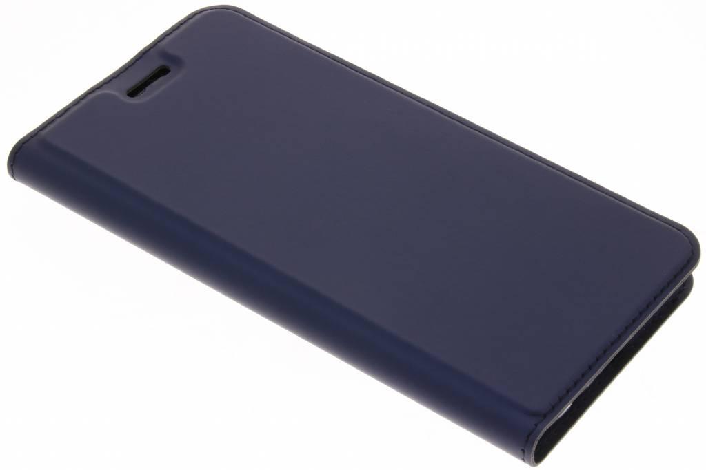 Dux Ducis Blauwe Slim TPU Booklet voor de Huawei P20 Lite