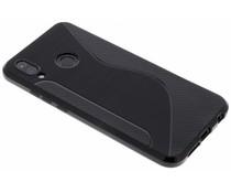 Zwart S-line TPU hoesje Huawei P20 Lite