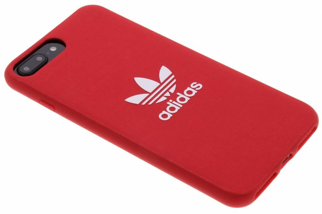 Rode Adicolor Moulded Case voor de iPhone 8 Plus / 7 Plus / 6(s) Plus