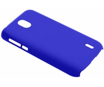Blauw effen hardcase hoesje Nokia 1