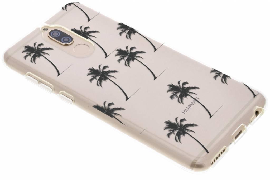 Palmtrees design siliconen hoesje voor de Huawei Mate 10 Lite