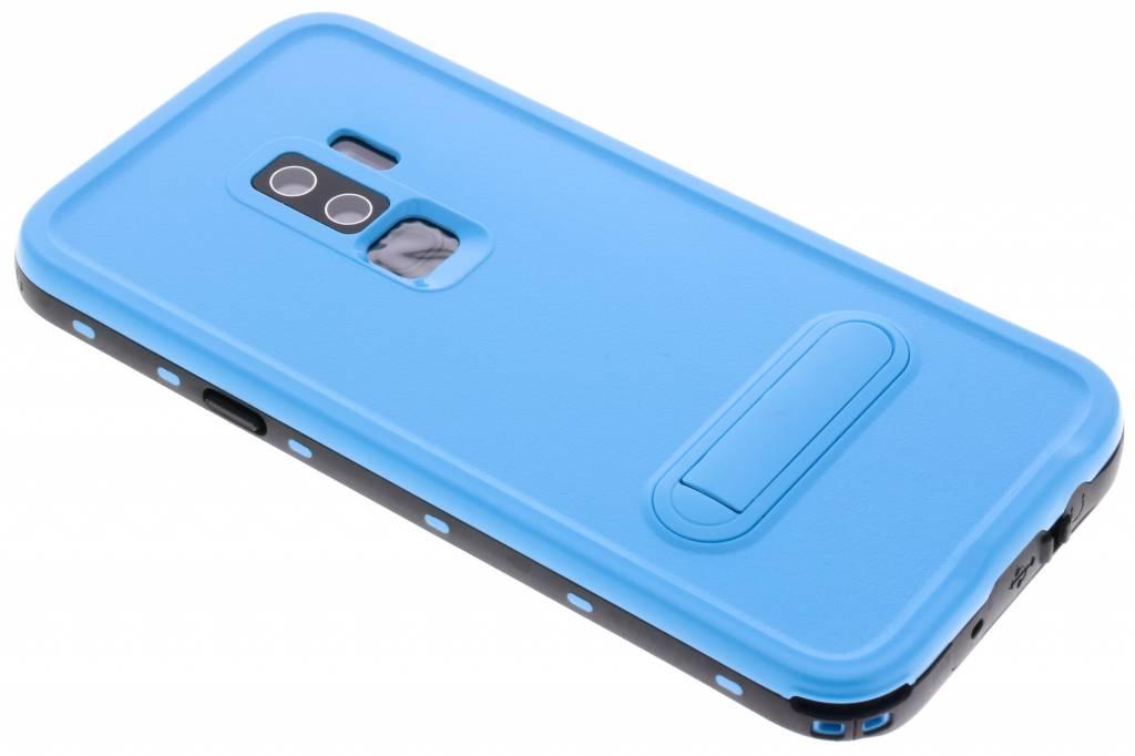 Blauwe Dot Waterproof Case voor de Samsung Galaxy S9 Plus