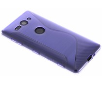 Paars S-line TPU hoesje Sony Xperia XZ2 Compact