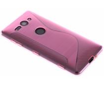 Roze S-line TPU hoesje Sony Xperia XZ2 Compact