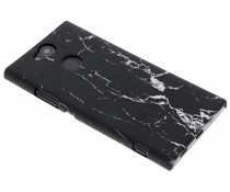 Marmer look hardcase hoesje Sony Xperia XA2