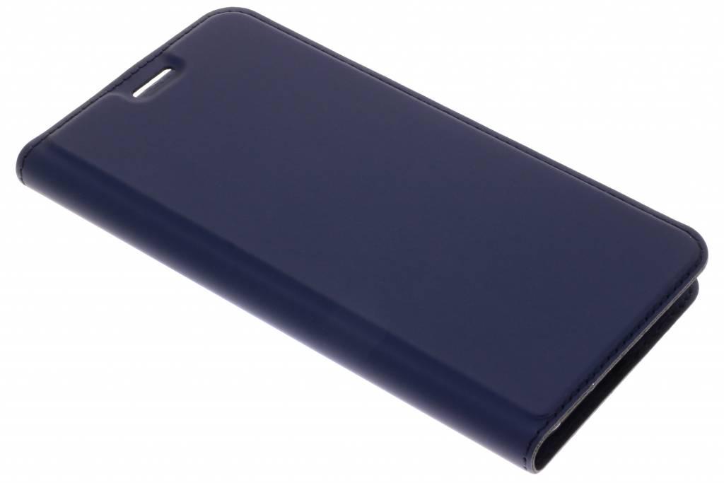 Dux Ducis Blauwe Slim TPU Booklet voor de Asus ZenFone Max M1
