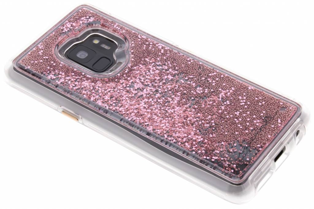 Case-Mate Roze Naked Tough Waterfall Case voor de Samsung Galaxy S9
