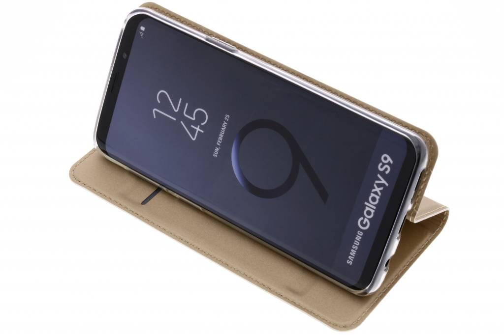 Porte-monnaie D'or Livret Tpu Pour Samsung Galaxy S9 ULJC5xl