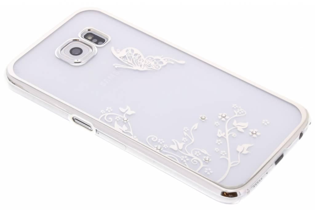 Transparant vlinder design hardcase hoesje voor de Samsung Galaxy S6