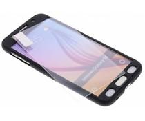 Zwart 360° effen protect case Samsung Galaxy S6