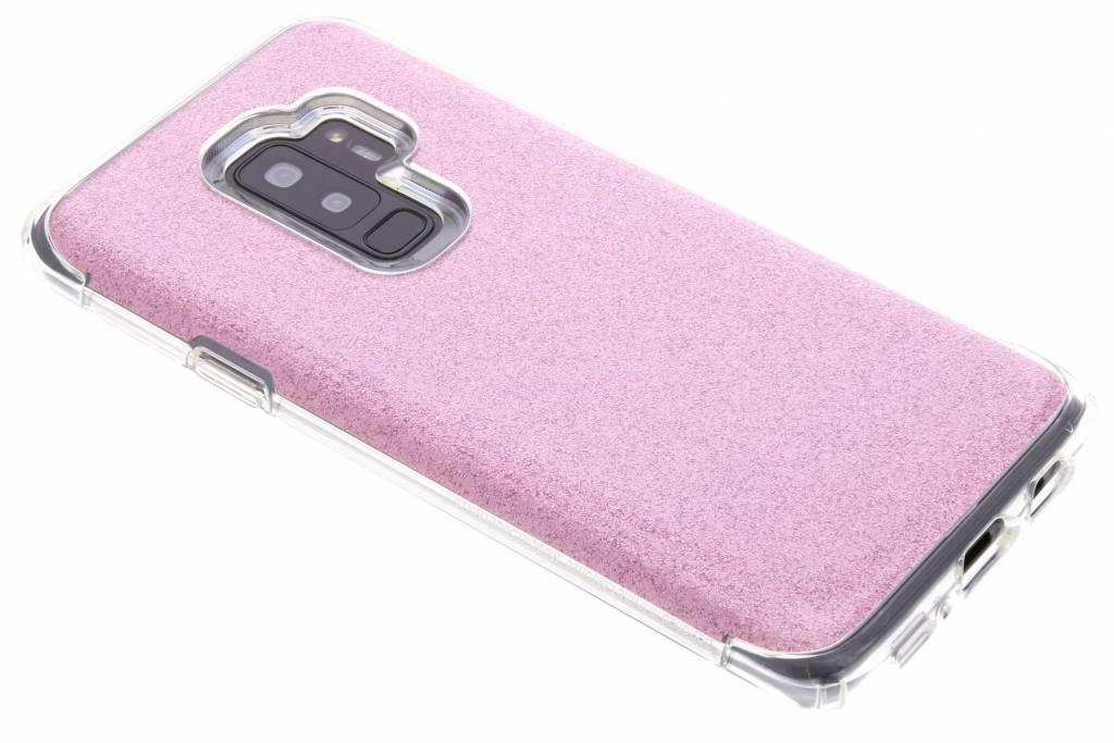 Rosé Gouden Slim Armor™ Crystal Glitter Case voor de Samsung Galaxy S9 Plus