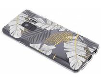 Botanic design siliconen hoesje Samsung Galaxy S9