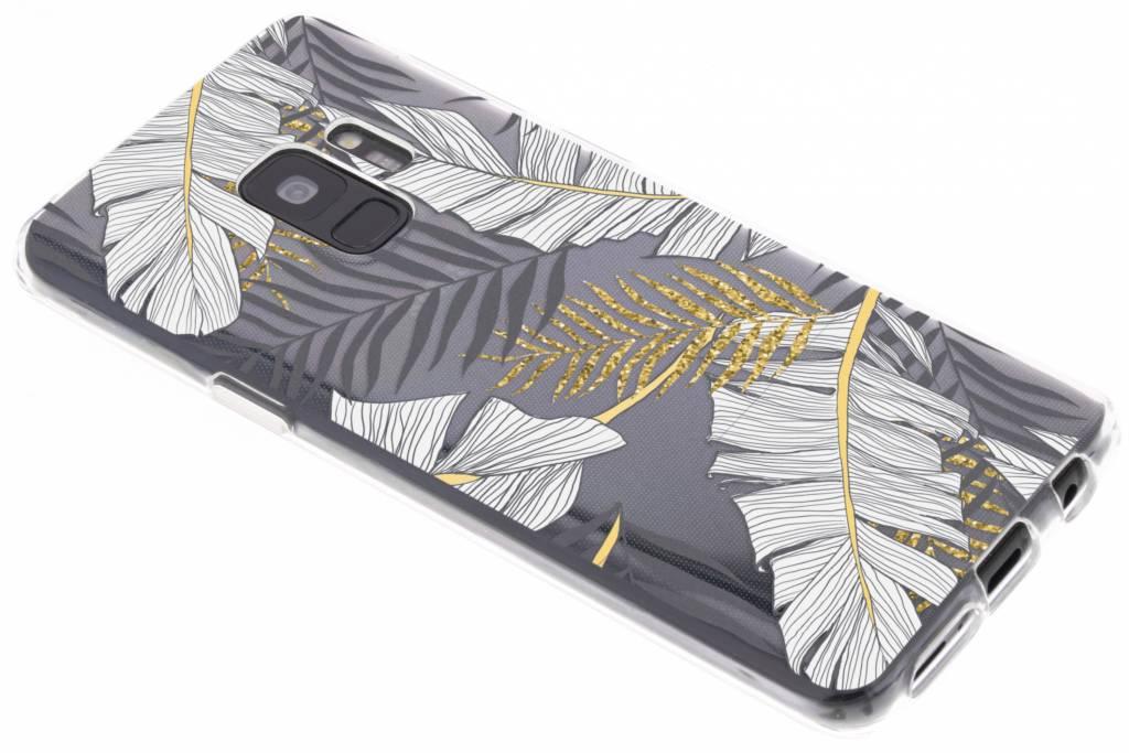 Botanic design siliconen hoesje voor de Samsung Galaxy S9
